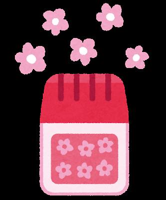 芳香剤のイラスト