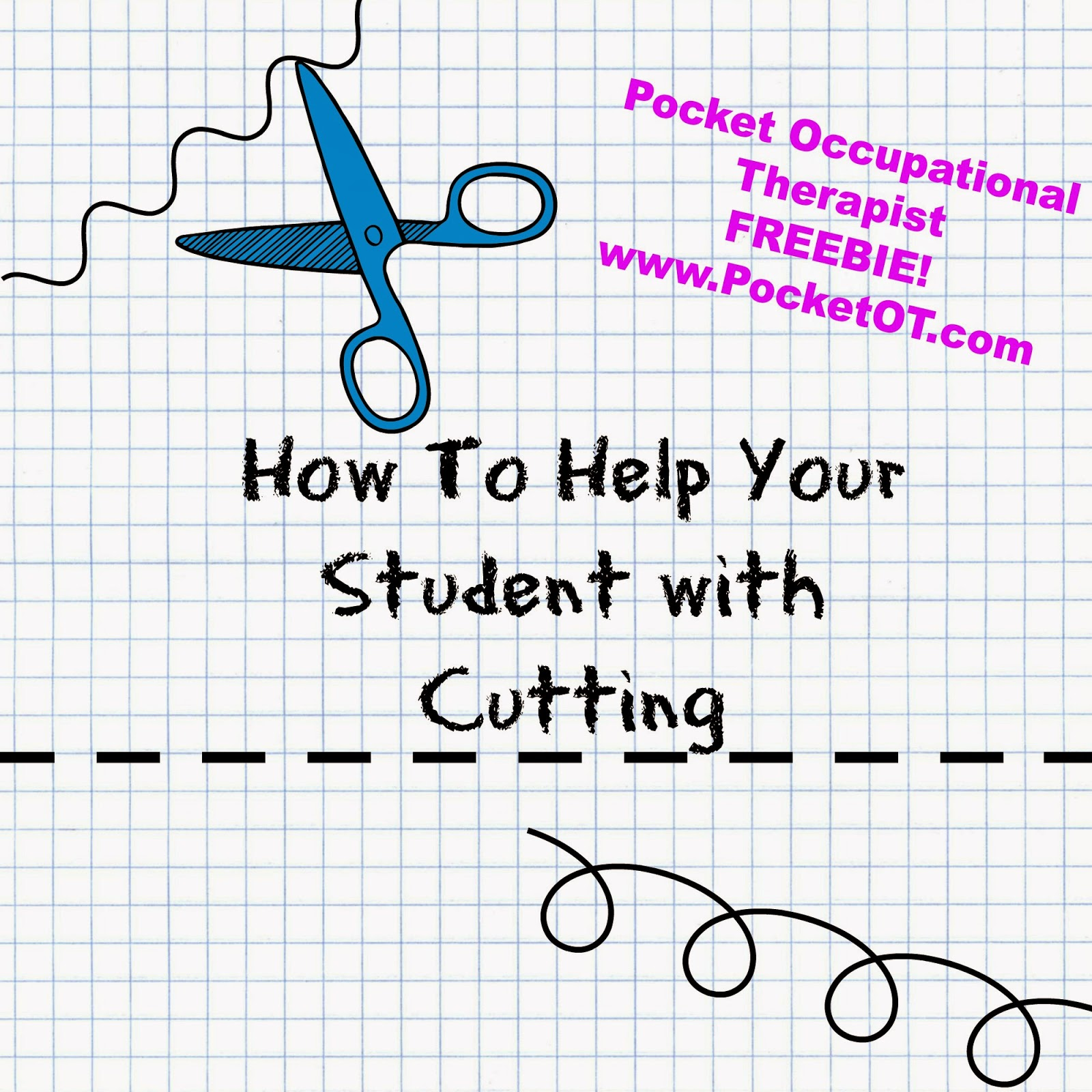 Cutting FREEBIE and Autism Book Information PocketOT