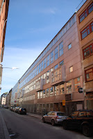 rear elevation of Folkets Hus, Stockholm - Sven Markelius