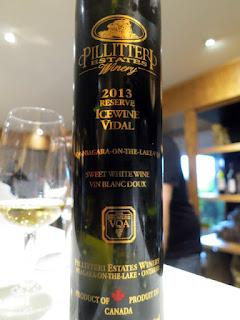 Pillitteri Reserve Vidal Icewine 2013 (91 pts)