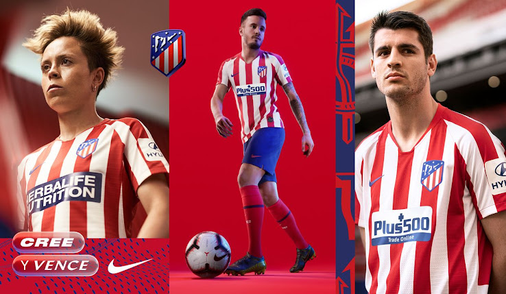 Atletico Madrid 19 20 Home Kit Revealed Footy Headlines