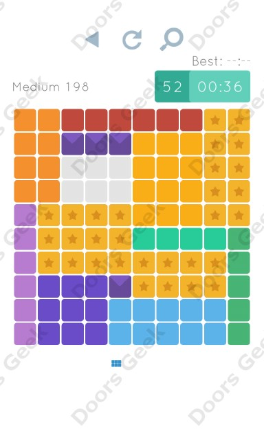 Cheats, Walkthrough for Blocks and Shapes Medium Level 198