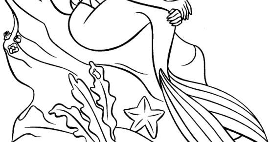 Aprenda A Desenhar: Desenho Pequena Sereia