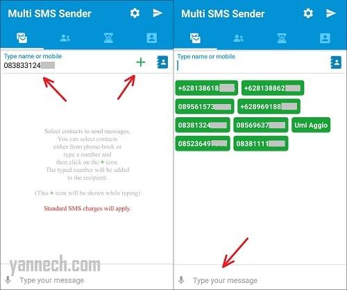 Cara Kirim SMS ke Banyak Nomor Sekaligus di Android Terbaru