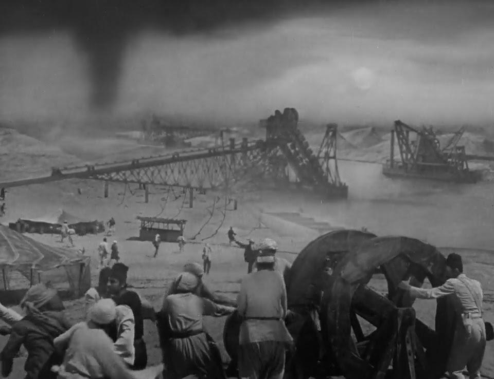 Matte Shot - a tribute to Golden Era special fx: Forgotten Gems of Special  Visual Effects Part One - SUEZ (1938)