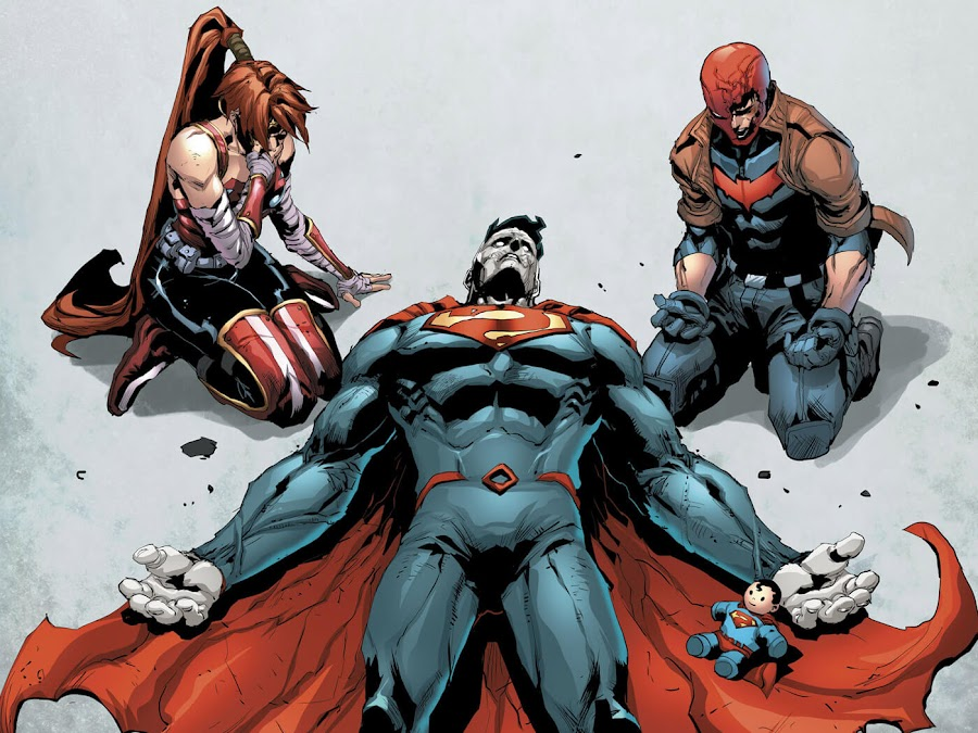 red hood and the outlaws dc comics