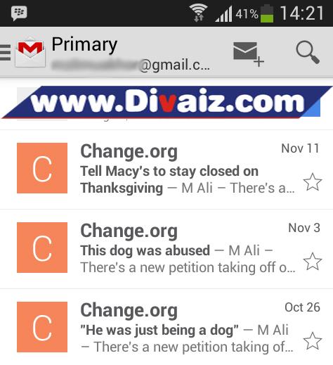 Cara keluar akun Gmail 1 - www.divaizz.com