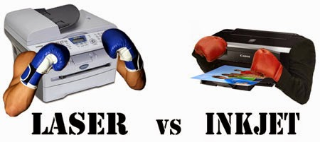 Inkjet printers vs the printer toner laserjet today 39 s for Color laser printer vs inkjet cost per page