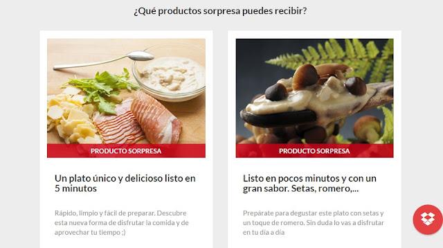 Productos sorpresa para recibir en Octubre con Smilebox