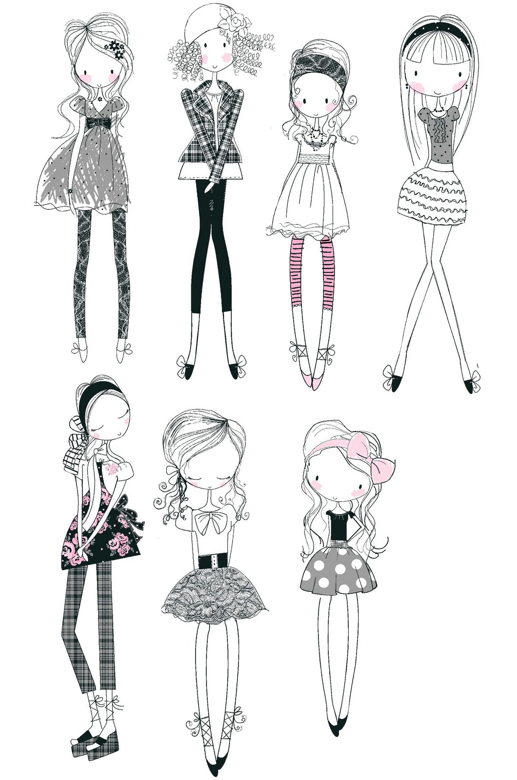 All about surface pattern ,textiles and graphics: Girly ...