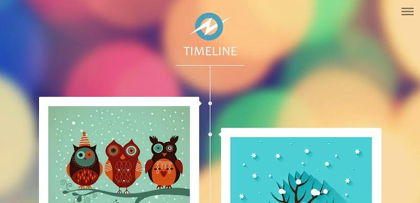 Timeline Free Blogger Template