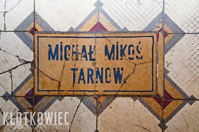 Tarnów. Kamienica. Posadzka. Michał Mikoś Tarnów.