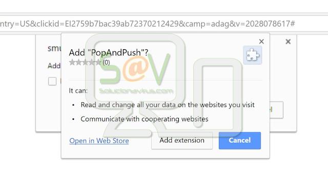 PopAndPush (Extensión forzada)
