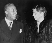 Photo: A. Philip Randolph and Eleanor Roosevelt