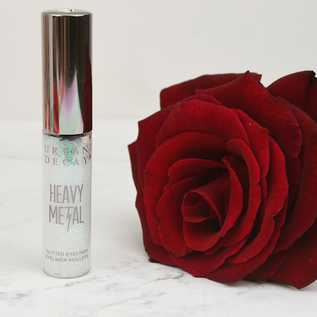 Lovelaughslipstick Blog - Review / First Impressions of the Urban Decay Heavy Metals Glitter Eyeliner in Shade Distortion