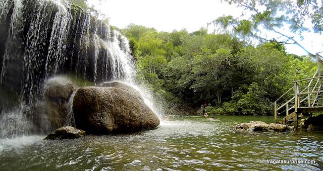 Cachoeira na Estância Mimosa - Bonito - MS
