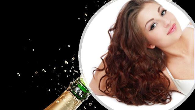 ¿Te gustaría lavarte el cabello con champagne? Aquí lo hacen.