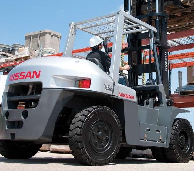 Nissan Forklift Tires
