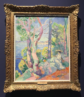 The Hermitage Museum's oil on canvas by Henri Manguin, entitled 'Morning in Cavalière', 1906
