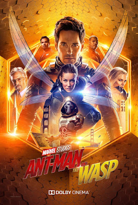 Marvel's Ant-Man and the Wasp DOLBY Cinema Theatrical One Sheet Movie Poster