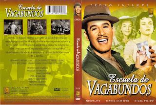 Carátula: Escuela de vagabundos (1955)