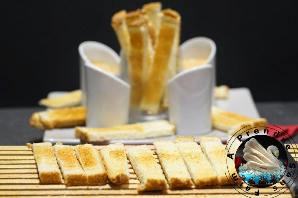 Toasts à la crème de sardines