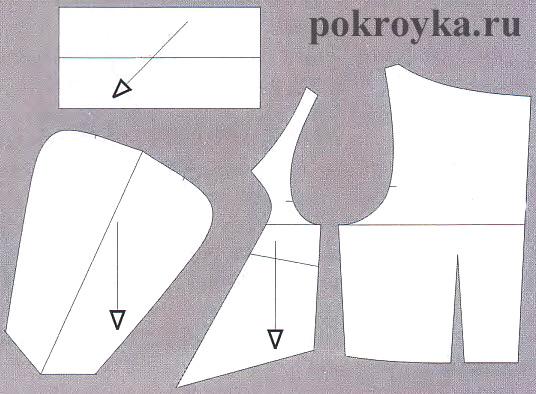 Моделирование воротников-стоек