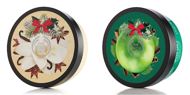 The Body Shop Body Butter in Vanilla Chai or Spiced Apple $5 (reg $21)