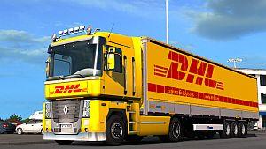 DHL pack for Renault Magnum