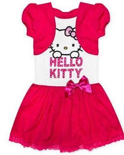 Gambar Baju Hello Kitty Untuk Anak 4