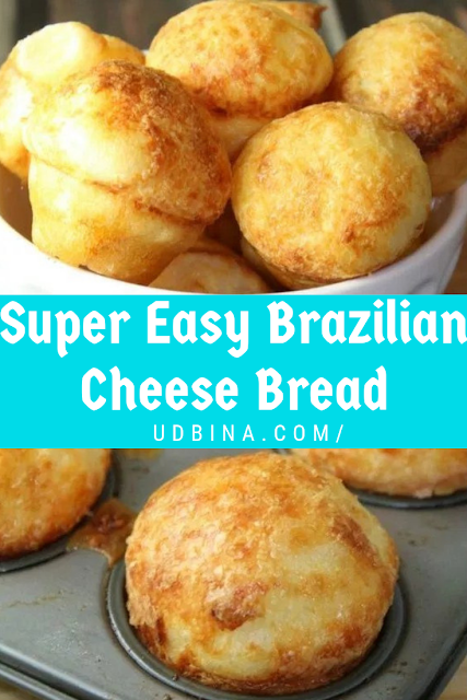 Super Easy Brazilian Cheese Bread
