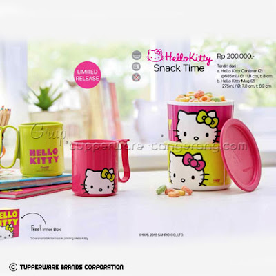 Hello Kitty Snack Time ~ Katalog Tupperware Promo Mei 2016