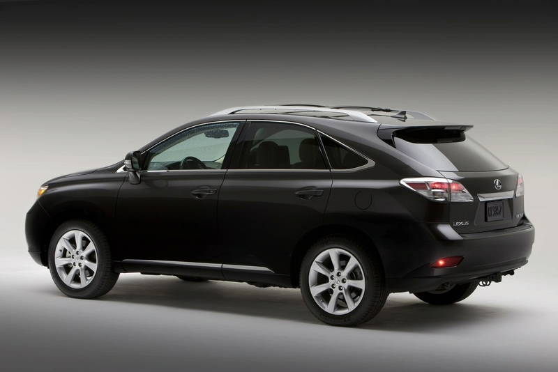 Rear 3 4 View Of 2017 Lexus Rx350