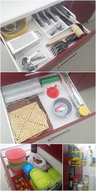 Organizirane kuhinjske ladice