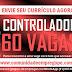 CONTROLADOR DE ACESSO 60 VAGAS COM REMUNERAÇÃO R$ 1046,40