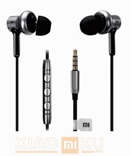 bentuk xiaomi mi in-ear headphones pro HD