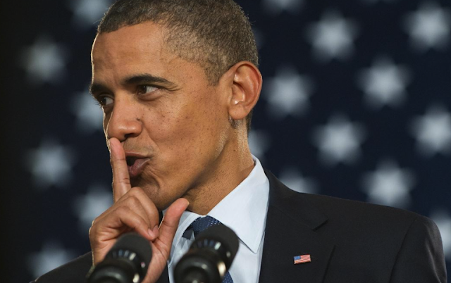 So what was Obama's secret speech for the sports conference all about?