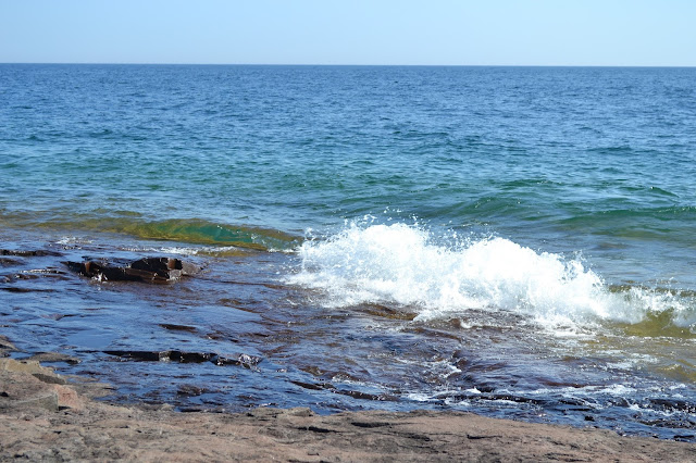 Waves Lake Superior