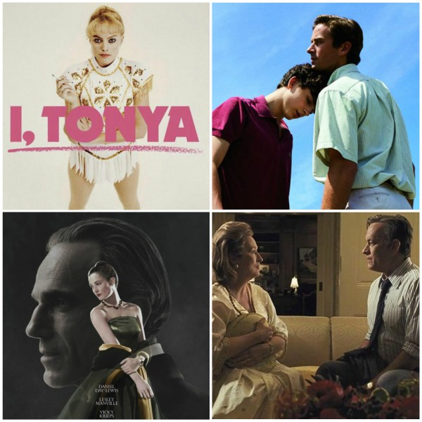 Best movies of January 2018 - I. Tonya, Phantom Thread, the Post and Call Me By Your Name