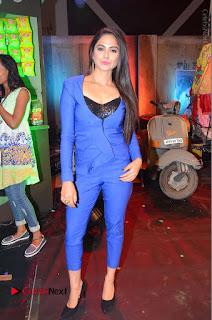 Actress Naina Ganguly Stills in Blue Dress at RGV Shiva to Vangaveeti Event  0039.JPG