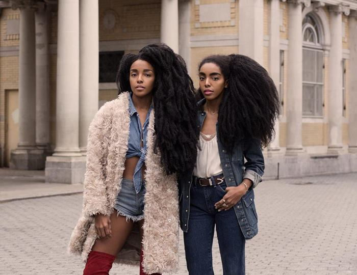 Cipriana Quann and TK Wonder, the girls who turn heads as they walk the streets and who are becoming the new stars of Social Media