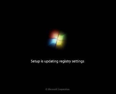 update registry setting