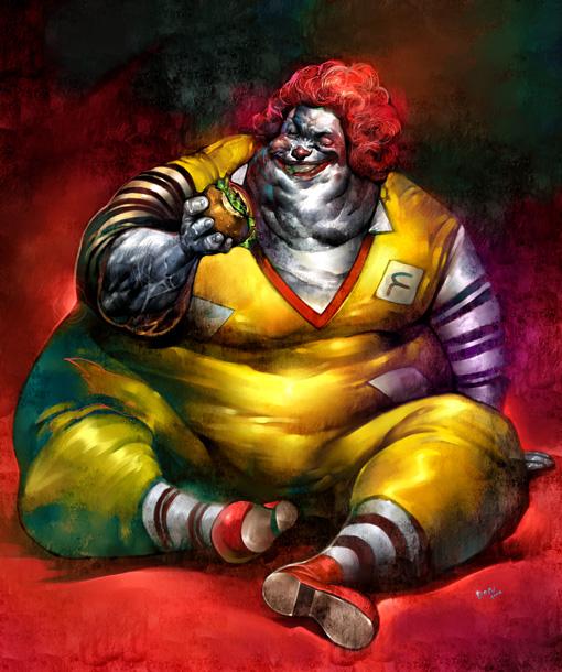 Ronald Mcdonald Fat 85