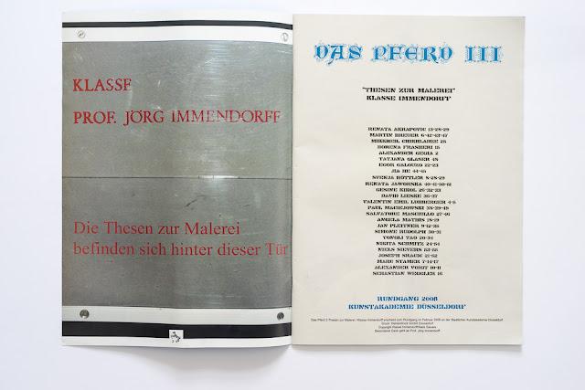 Jaworska, Kunstakademie, Immendorff,