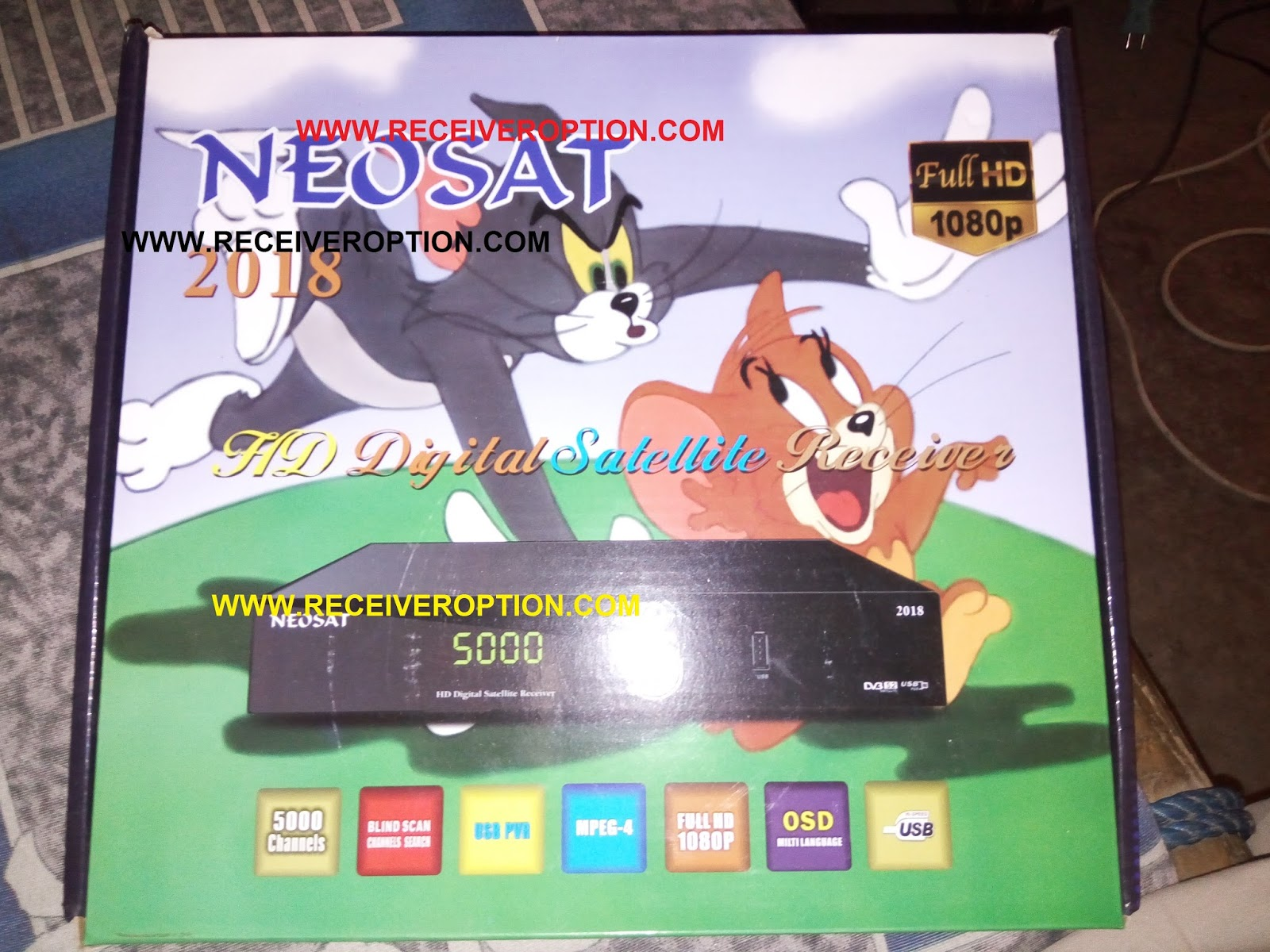HOW TO CONNECT WIFI IN NEOSAT 2018 HD RECEIVER - HOW TO
