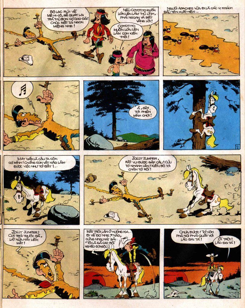 Lucky Luke tap 12 - khe vuc apache trang 13