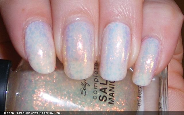 xoxoJen's swatch of Sally Hansen Hidden Treasure