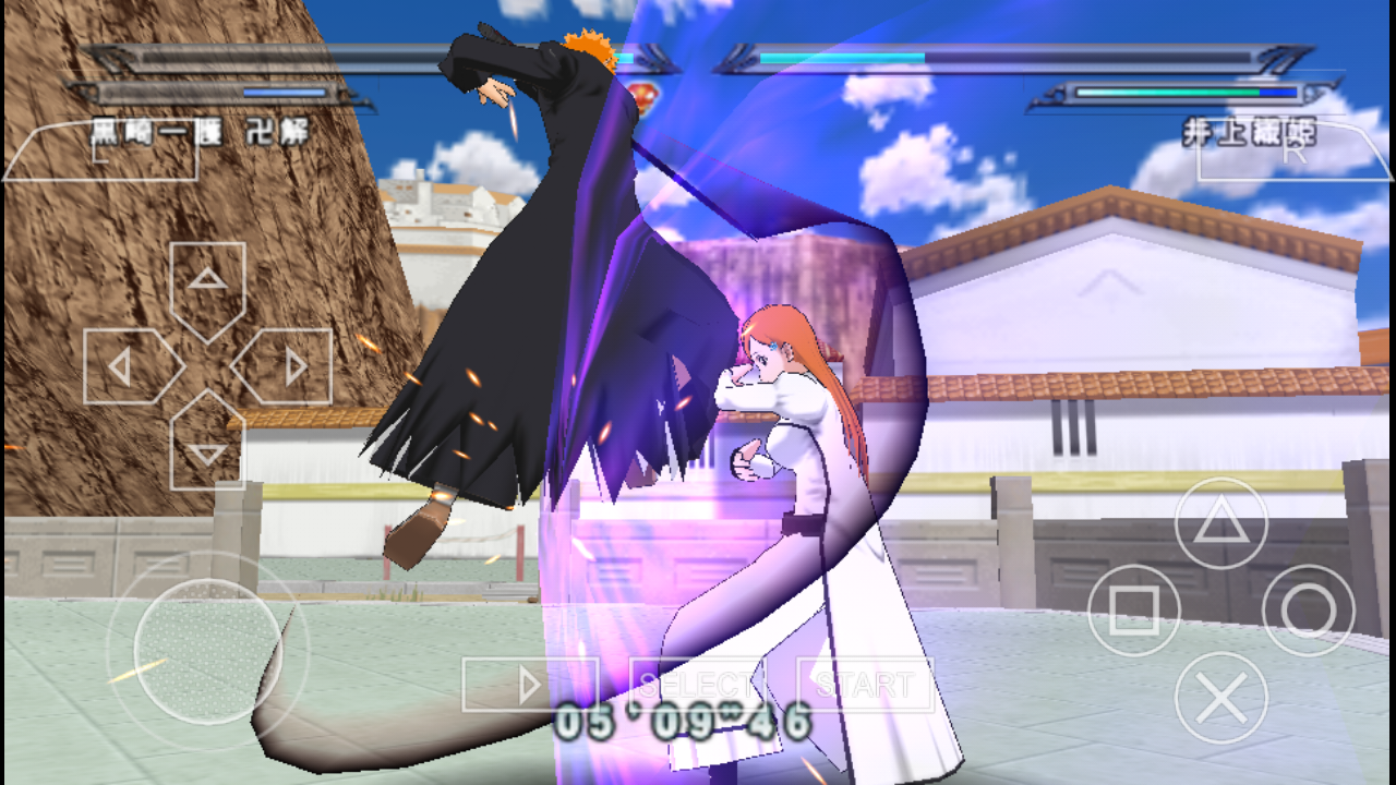 bleach heat the soul 7 iso psp