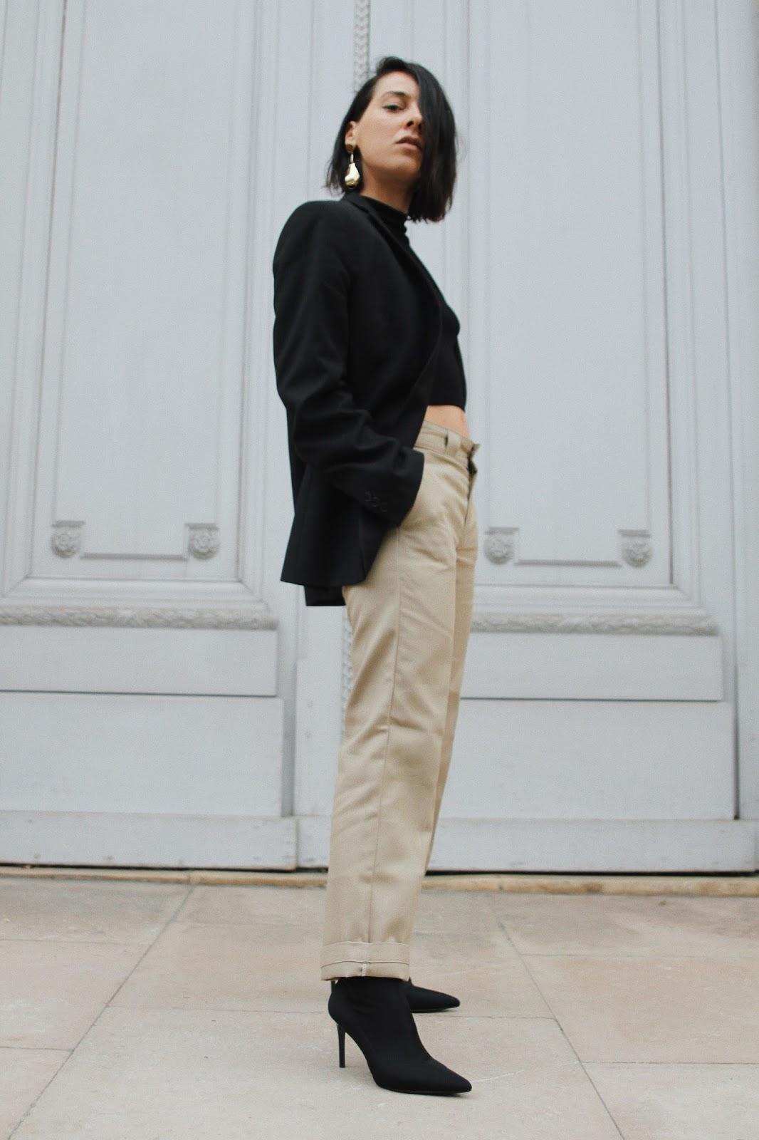 pantalon kaki tendance printemps