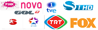 OSN beIN Sports Movies Turk SBS NL TLC Nat Geo